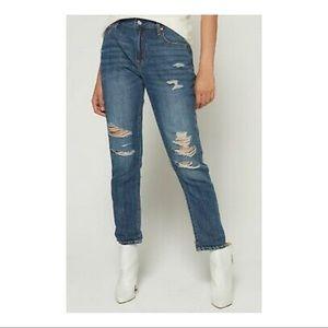 Gap- Best Girlfriend Destroyed Cropped Jeans